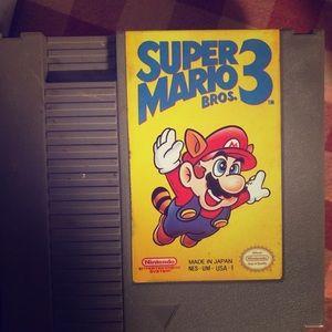Other - NES super Mario bros 3